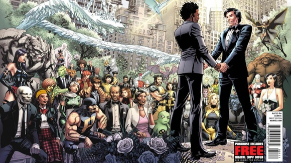 X-Men couple set for first same-sex superhero wedding