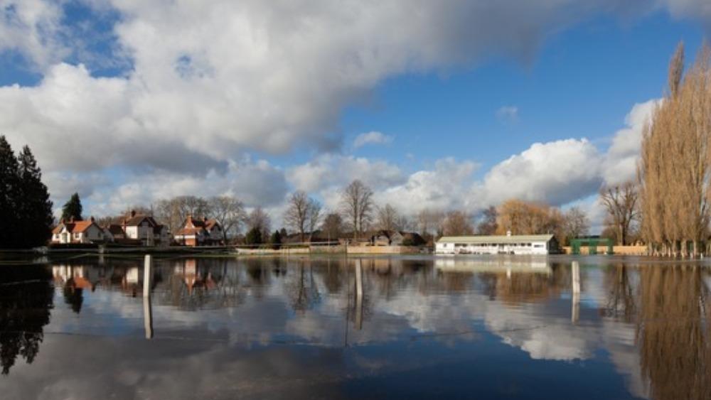 Henley On Thames Cricket Club Under Water Meridian Itv