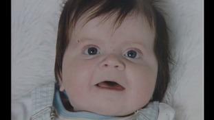 Matthew as a baby