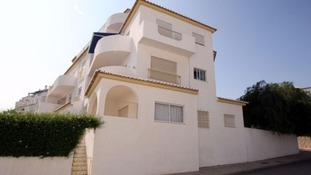 Madeleine McCann went missing from the ground floor apartment in Praia Da Luz on May 3 2007