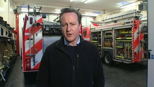 David Cameron said the Wythenshawe result sent a message to the Conservatives