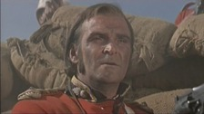 Stanley Baker in the film Zulu