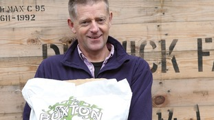 Tim Briscoe from Buxton Potato Company
