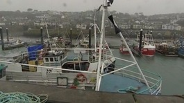 Fishermen stuck in Newlyn port