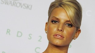 Jessica Simpson is the latest star to recreate the infamous Demi Moore pose for Vanity Fair magazine.