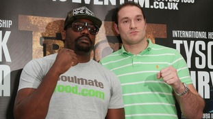 Fury set for Chisora clash