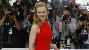 Actress Nicole Kidman poses during a photo call for The Paperboy at Cannes