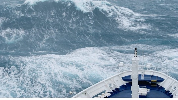 Ship On Which Man Was Killed Had Undergone Recent Survey ITV News - Giant wave hits cruise ship