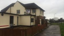 The occupied pub in Barnstaple