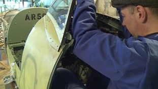 Spitfire restoration project nears completion
