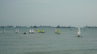Clipper boats reach Singapore