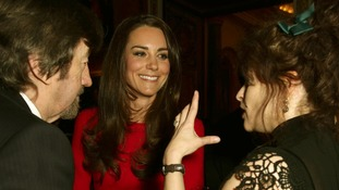 Kate meets Sir Trevor Nunn and Helena Bonham Carter.