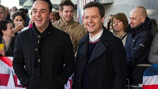 Ant McPartlin (left) and Declan Donnelly (right).