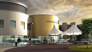 Artists' impression of how the new hospital in Cramlington will look.