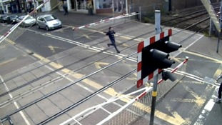 CCTV of a crossing incident in Lincoln