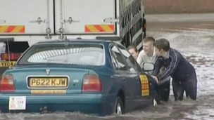 Hull was flooded in 2007 when six months of rain fell in two weeks.