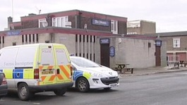 Investigation after body found outside Corby pub