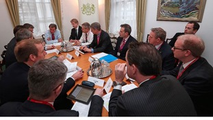 Ministers and insurance chiefs discuss flood response