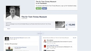 Sir Tom Finney Museum Facebook page