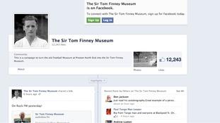 Sir Tom Finney Museum Facebook page
