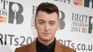 Sam Smith was presented with the Critics' Choice Award in January.