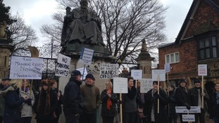 "Campaigners are upset at ""manorial rights."""