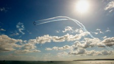 You could see a spectacular Red Arrows display this summer.