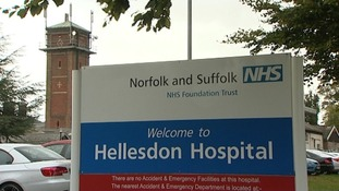 Hellesdon Hospital in Norfolk.