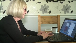 Jean now uses Facebook to communicate with her family and friends.