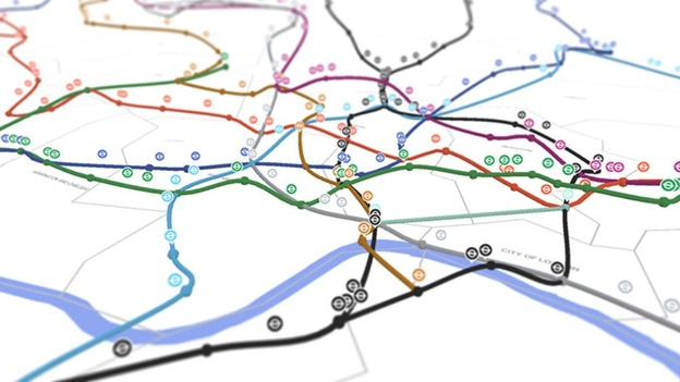 3d real time map brings the london underground to life