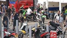Superbike championships at Snetterton in Norfolk today