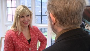 ITV News Anglia's Natalie Gary talks to John Hurt.