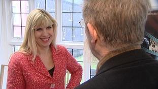ITV News Anglia's Natalie Gary talks to John Hurt.