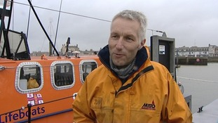 John Fox, Coxswain, RNLI Lowestoft Lifeboat.
