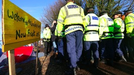 Legal bid to evicted anti fracking protestors put on hold