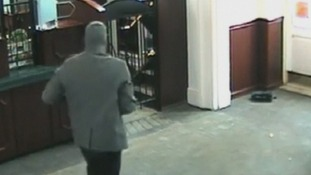 CCTV footage of the heist.
