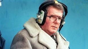 John Motson famously wore a sheepskin coat when commentating.