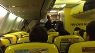 Ryanair staff and passengers call police after 11 hour delay at Stansted