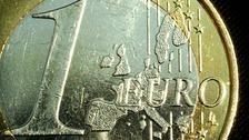 A one euro coin