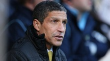 Chris Hughton is under pressure.