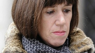 Carina Trimingham, the partner of former British Energy Secretary Chris Huhne