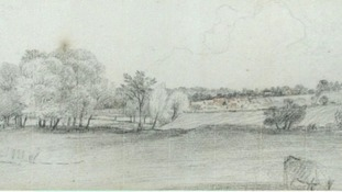 John Constable's drawings.