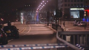 Police cordoned off the area overnight while investigations on the bridge were carried out