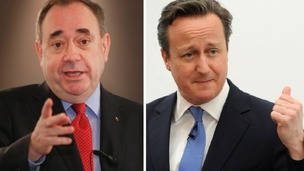 Alex Salmond and David Cameron will both hold Cabinet meetings in Aberdeenshire.