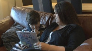 Mum's bedtime stories prove a hit