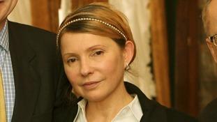 Former prime minister Yulia Tymoshenko.