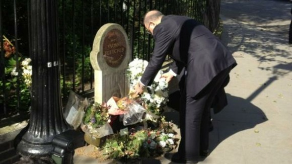 Libyan PM has just laid wreath for WPC Yvonne Fletcher