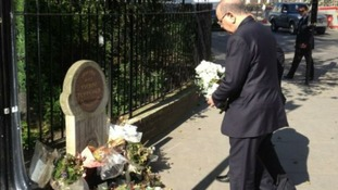 Libyan PM pays respect to Wpc Yvonne Fletcher