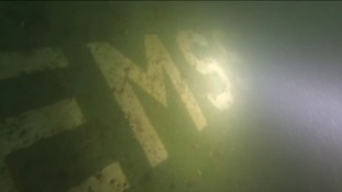 Divers will now be able to explore a new wreck off the South Devon coast