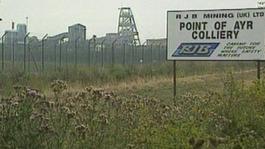 Work begins on Point of Ayr Colliery memorial
